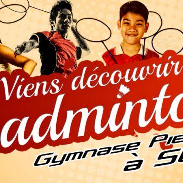 Le mois du Badminton à Saint-Junien !