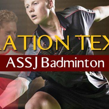 Opération textile ASSJ Bad