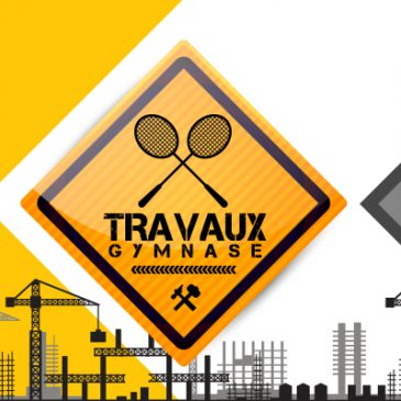 Travaux de réfection du sol