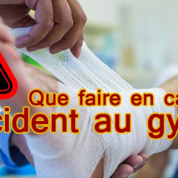 Déclaration en cas d'accident