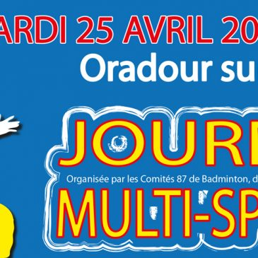 Journée multi-sports (25 avril)