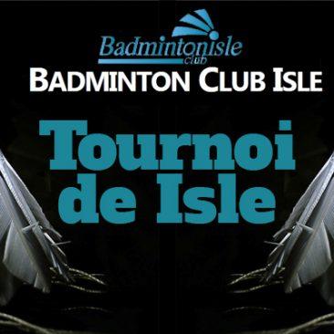 Tournoi Isle J&V (11 & 12 novembre)
