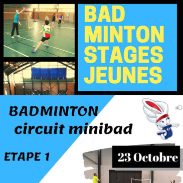 Stages jeunes et circuit minibad