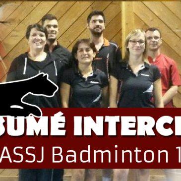 Résumé interclub ASSJ 1