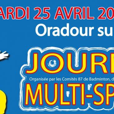 Journée multi-sports (25 avril)