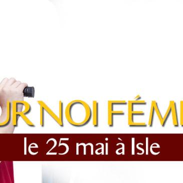 Tournoi féminin à Isle (25 mai)