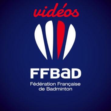 Vidéos FFBAD pour progresser