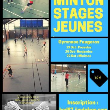 Stages jeunes